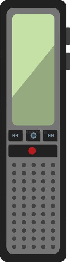 dictaphone illustration stock