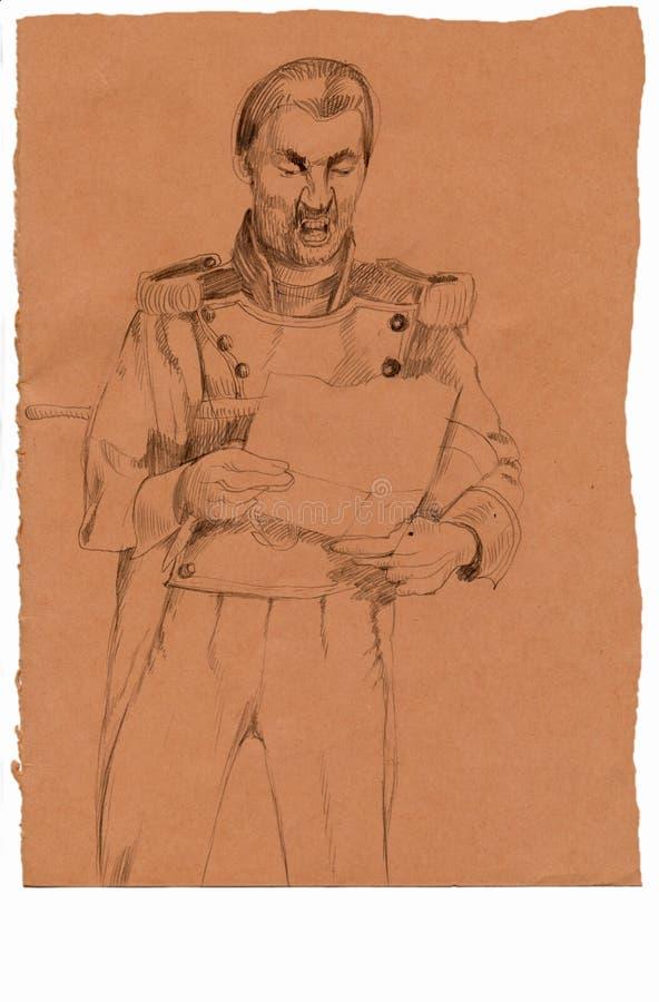 Download Dictator stock illustration. Illustration of artwork - 23177723