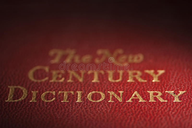Dictionary royalty free stock image