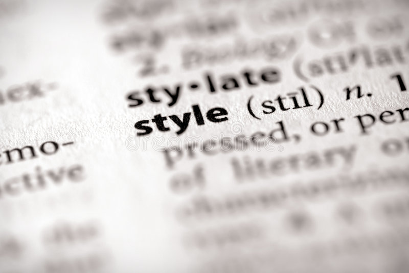 Download Dictionary Series - Attributes: Style Stock Photo - Image: 5629882