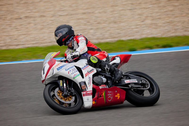 Didac Fernandez pilot of Stock Extreme in the CEV