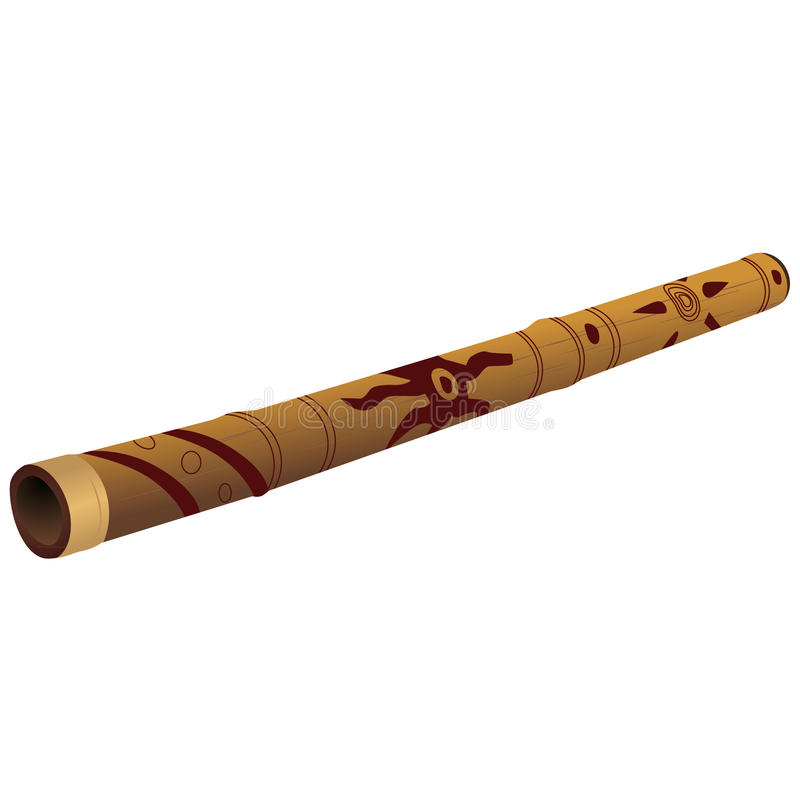 Didgeridoo illustration libre de droits