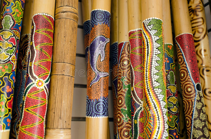 Didgeridoo 免版税库存照片