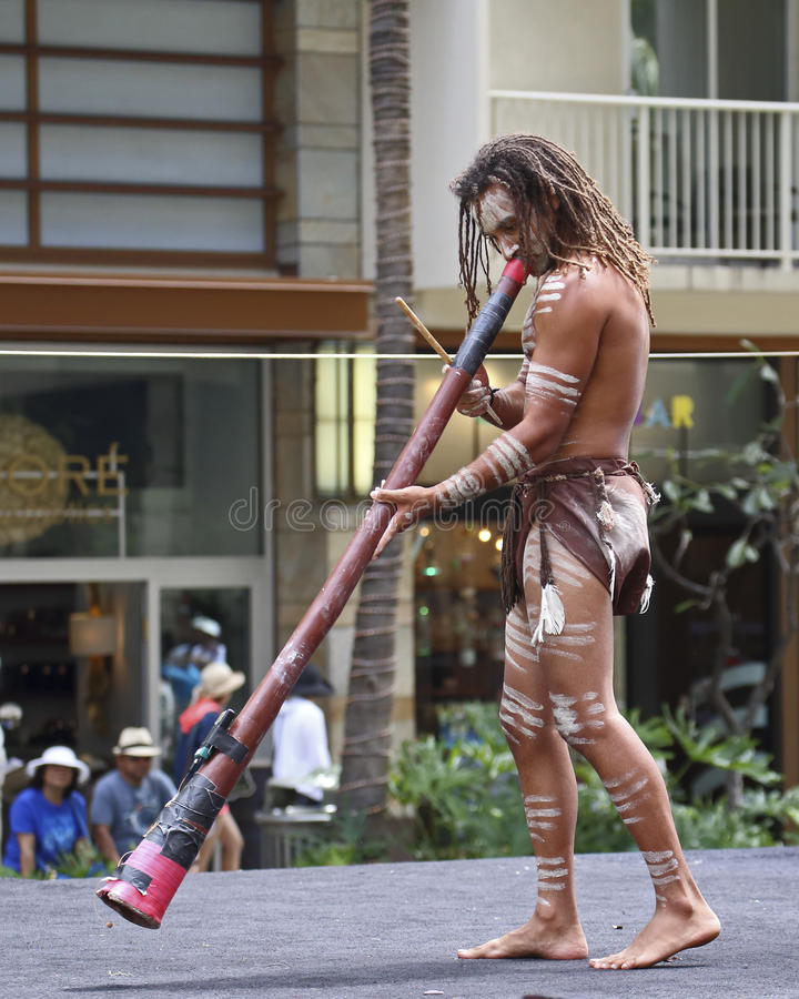 Didgeridoo royalty free stock images