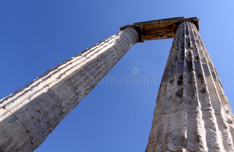 Didim Colomns Royalty Free Stock Photography