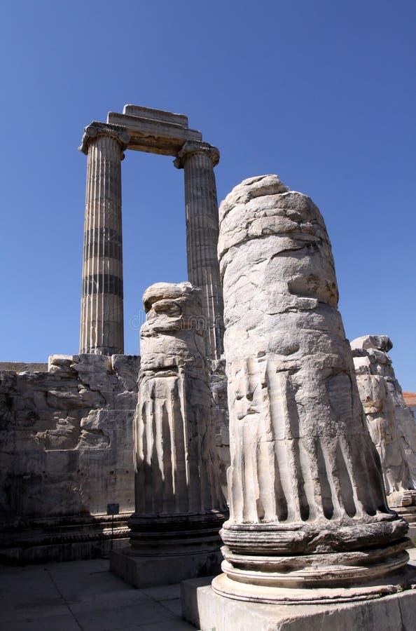 Didim ruins stock photography