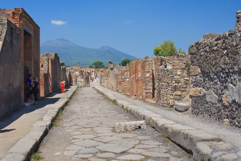 Die älteste Straße stockfotos