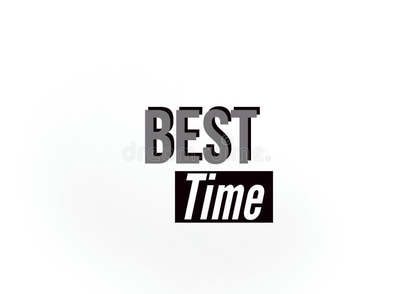 Die überraschende Tapete der besten Zeit auf dem weißen Hintergrund lizenzfreie stockfotografie