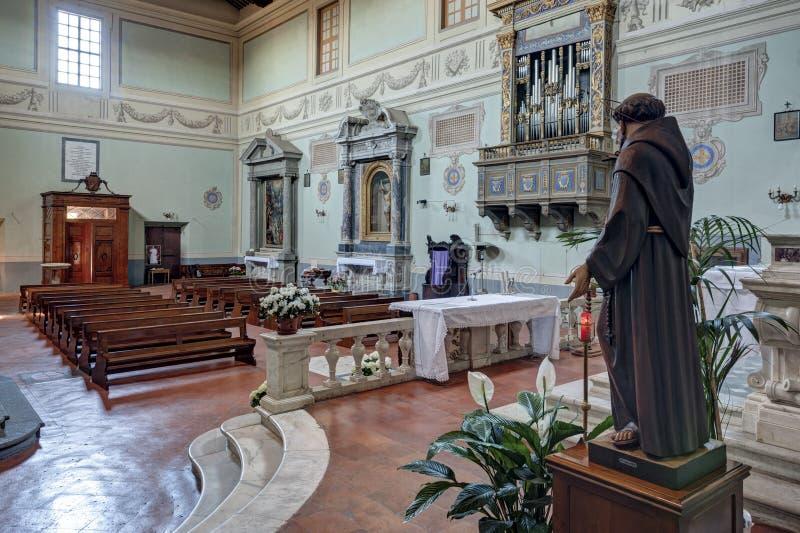 Die Abtei von San Salvatore stockbild