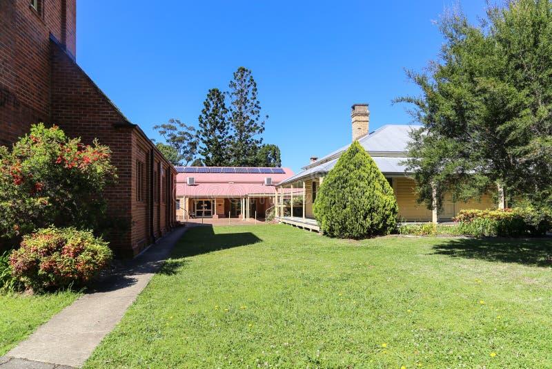 Download Die Alte Architektur In Bellingen Stadt, Australien Stockbild    Bild Von Hinterhof, Landschaft
