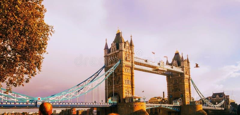Die alte Brücke und die Boote lizenzfreie stockfotos