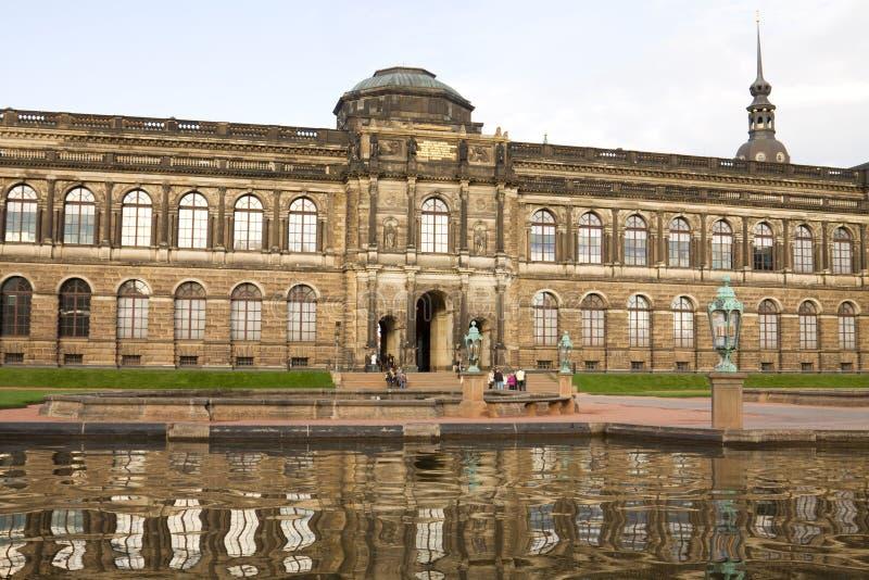 Die alte HauptBildergalerie in Dresden, Deutschland lizenzfreies stockfoto