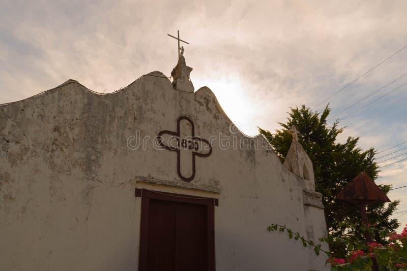 Die alte Kirche portugiesischer Architektur 03 stockfotos