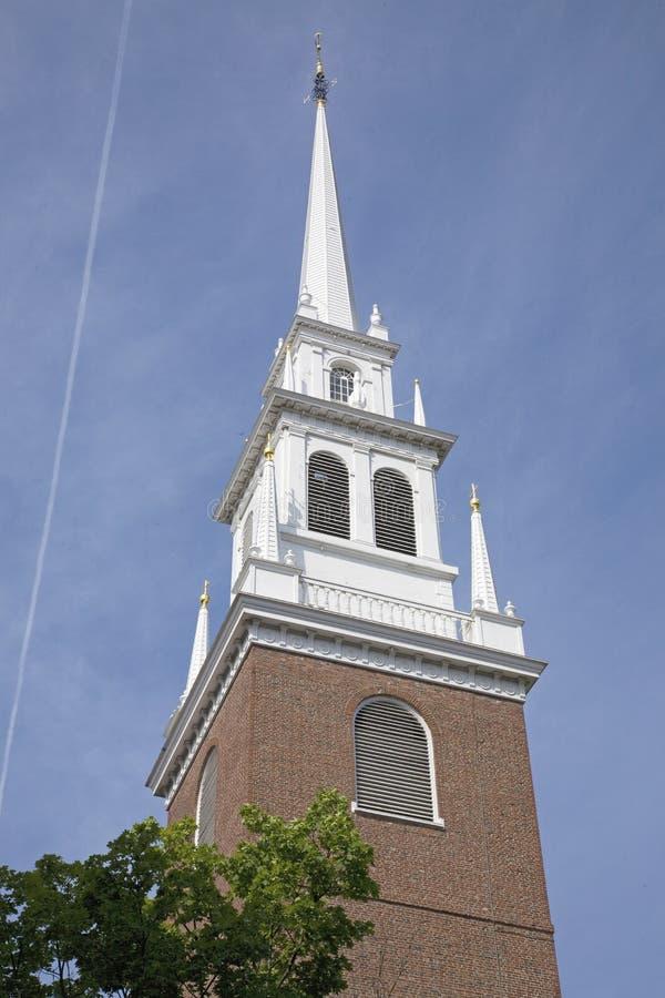 Die alte Nordkirche lizenzfreies stockfoto