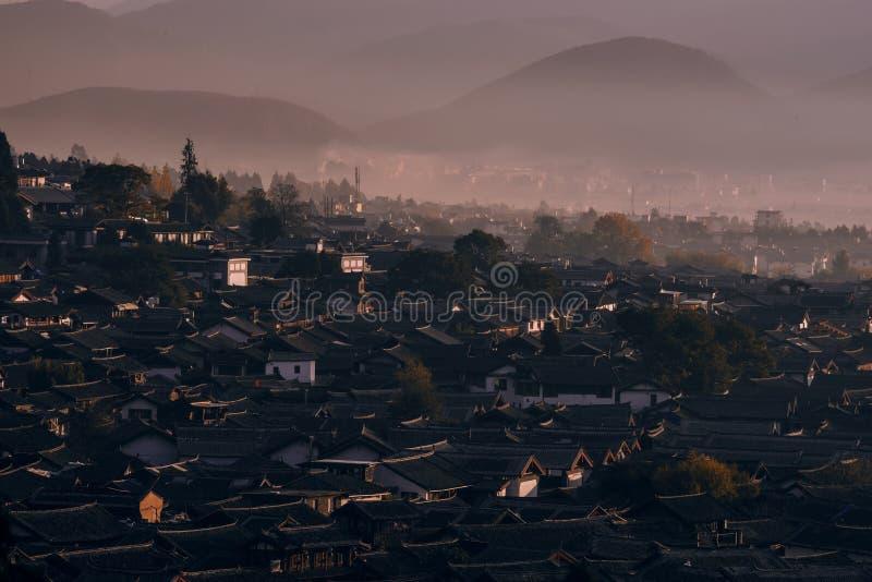 Die alte Stadt von Lijiang lizenzfreies stockfoto