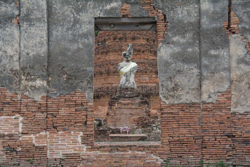 Die alte Stadt von Si Ayutthaya Ayutthaya Phra Nakhon lizenzfreies stockbild