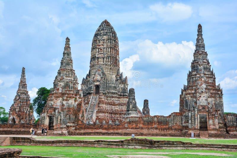Die alte Stadt von Si Ayutthaya Ayutthaya Phra Nakhon lizenzfreie stockbilder