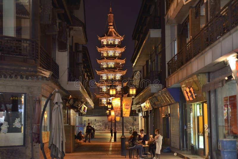 Die alte Straße in Süd-China stockfotografie
