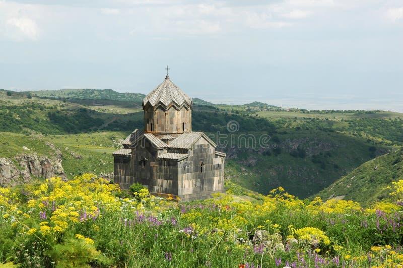 Die Amberd Kirche lizenzfreie stockfotografie