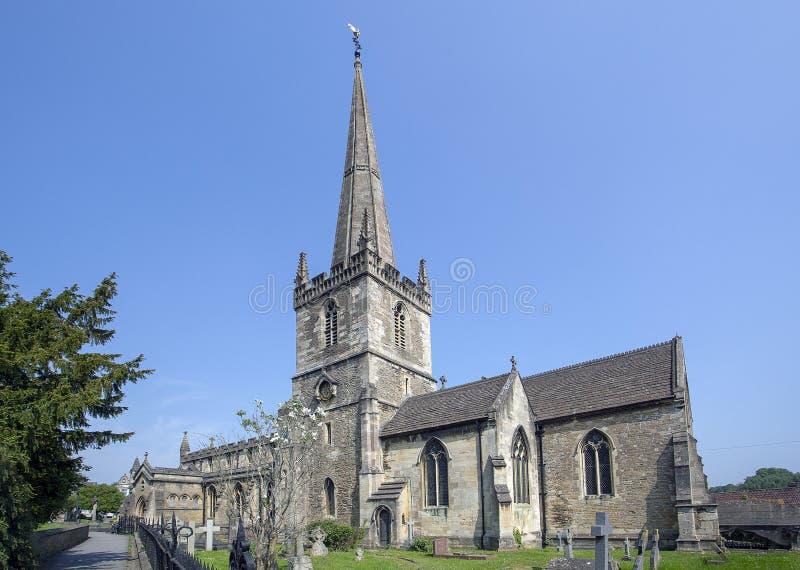 Die anglikanische Kirche von Johannes der Baptist, Frome stockfoto