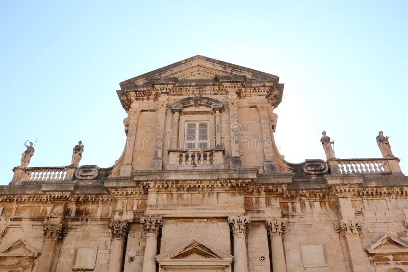 Die Annahme-Kathedrale, Dubrovnik lizenzfreie stockbilder