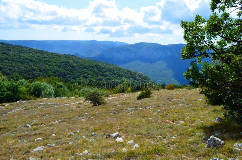 Die Ansicht des Boyka in der Krim bei Grand Canyon lizenzfreie stockbilder