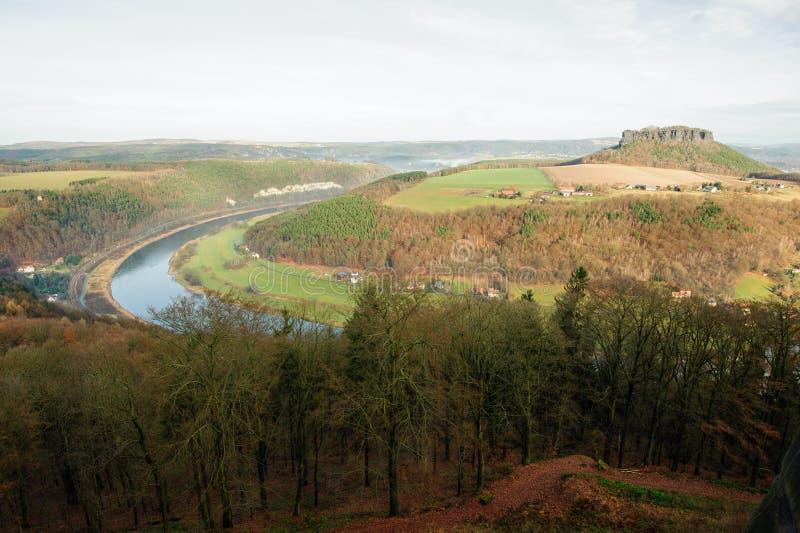 Die Ansicht vom Fort stockfotografie