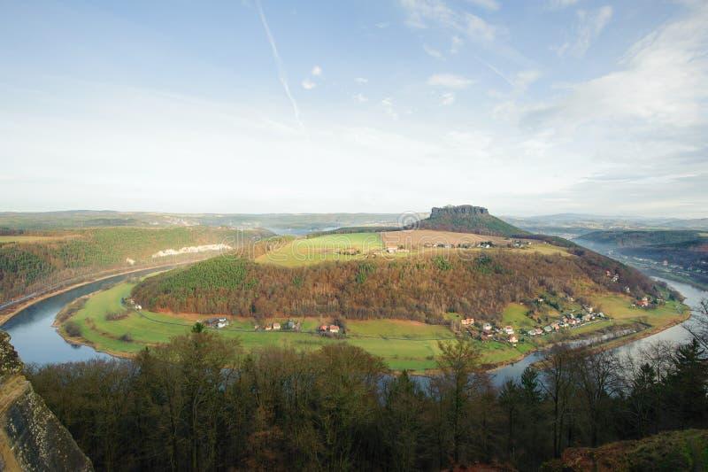 Die Ansicht vom Fort stockbilder
