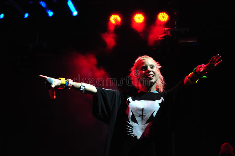 Download Die Antwoord Performs Live At Electric Castle Editorial Photo - Image: 41859211