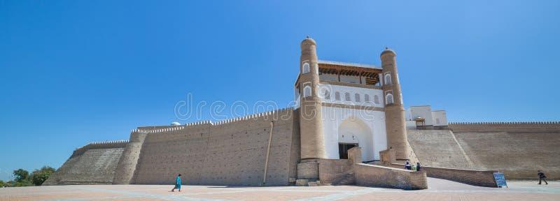 Die Archefestung von Bukhara, in Usbekistan lizenzfreie stockfotografie