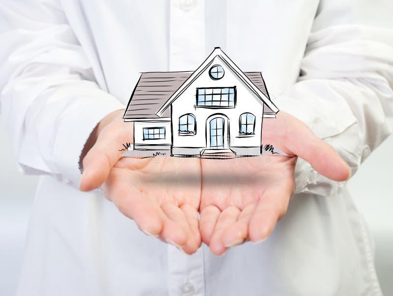 Die Architektur, Gebäude, Haus, Haus, Bau, Immobilien lizenzfreies stockfoto