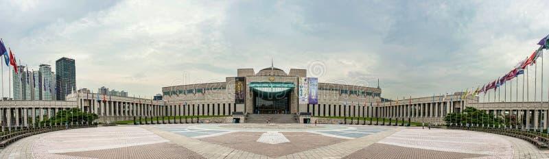 Download Die Architektur Und Die Nicht Identifizierten Touristen Sind Im Kriegs-Denkmal Von Korea Redaktionelles Stockfoto - Bild von gebäude, stadt: 96926813