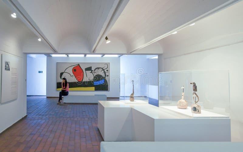 Die Architektur und die Kunst in Barcelona lizenzfreie stockfotografie