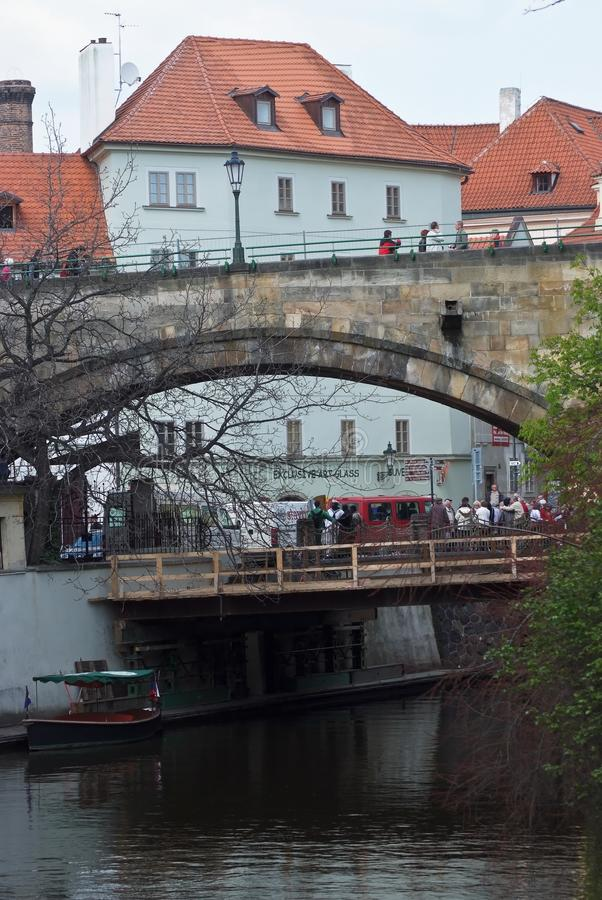 Die Architektur von Prag, Tschechische Republik stockfotografie