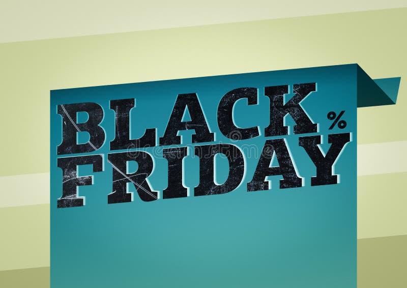 Die Aufschrift ist schwarzer Freitag lizenzfreie stockfotos