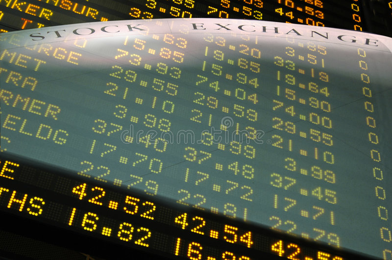 Die Börse II lizenzfreie stockfotografie