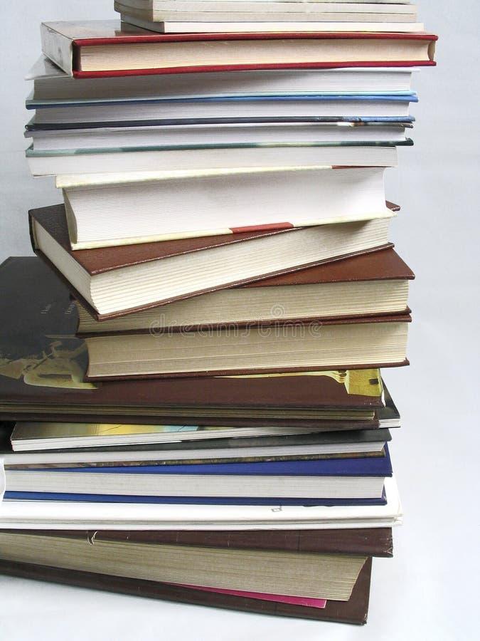 Die Bücher stockbild