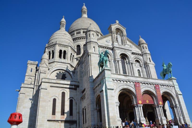 Die Basilika des heiligen Inneren von Paris lizenzfreie stockfotos