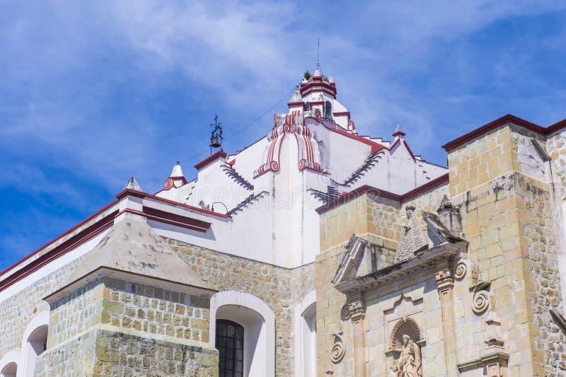 Die Basilika unserer Dame der Einsamkeit in Oaxaca Mexiko stockbilder