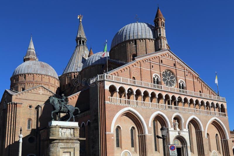 Die Basilika von San Antonio in Padua, Italien stockbild