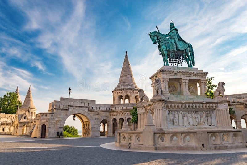 Die Bastion des Fischers - Budapest - Ungarn lizenzfreies stockfoto