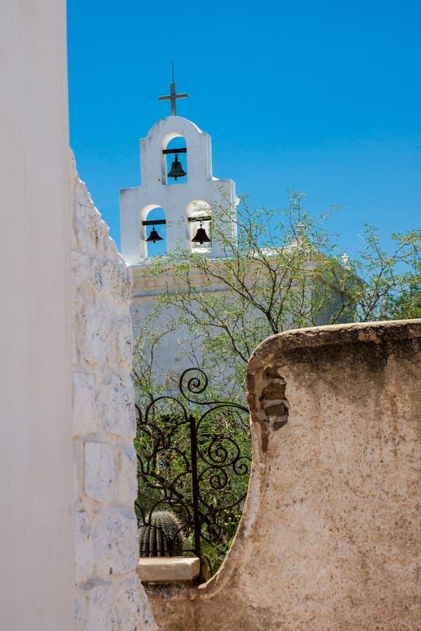 Die Bell von San Xavier lizenzfreies stockbild