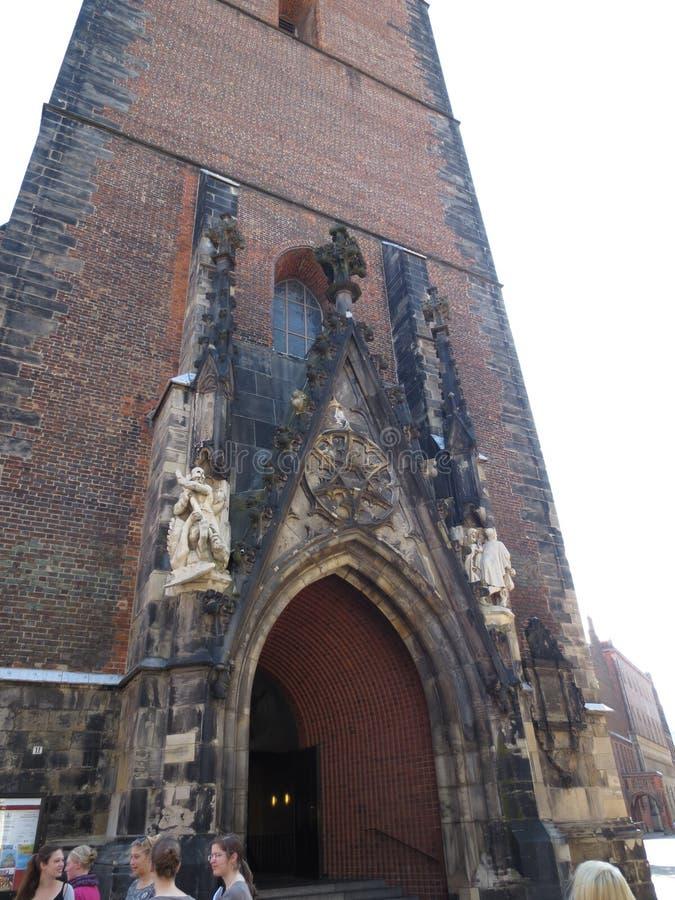 Die berühmte Kirche in Hannover Hanover, Deutschland lizenzfreie stockbilder