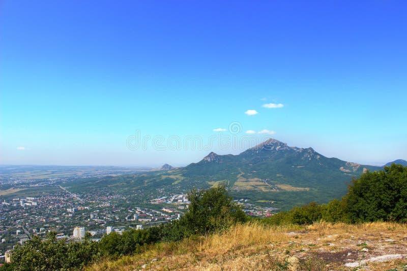 Die Berge stockbild