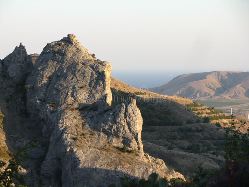 Die Berge sind eine ausgezeichnete Schaffung der Natur stockfotografie