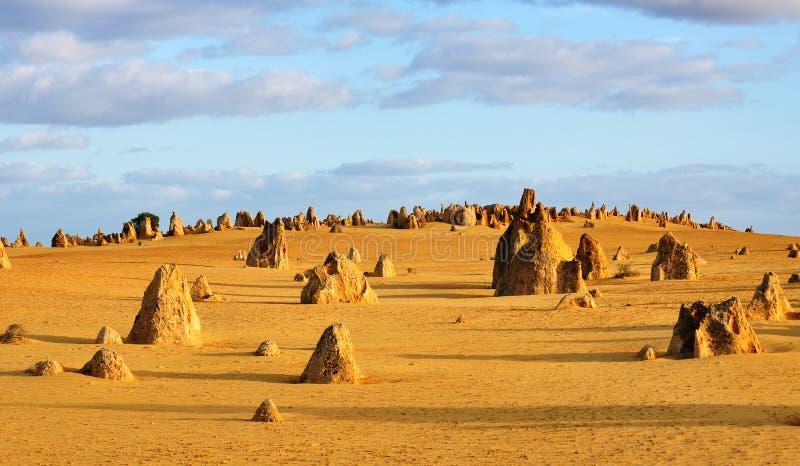 Die Berggipfel-Wüste West-Australien lizenzfreie stockbilder