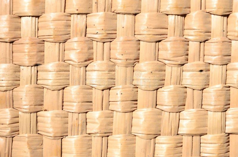 Die Beschaffenheit der Standardschwergängigkeit des Strohs Stroh, das für Hüte, Körbe und Haushaltswaren spinnt Natürliches Mater stockfotografie