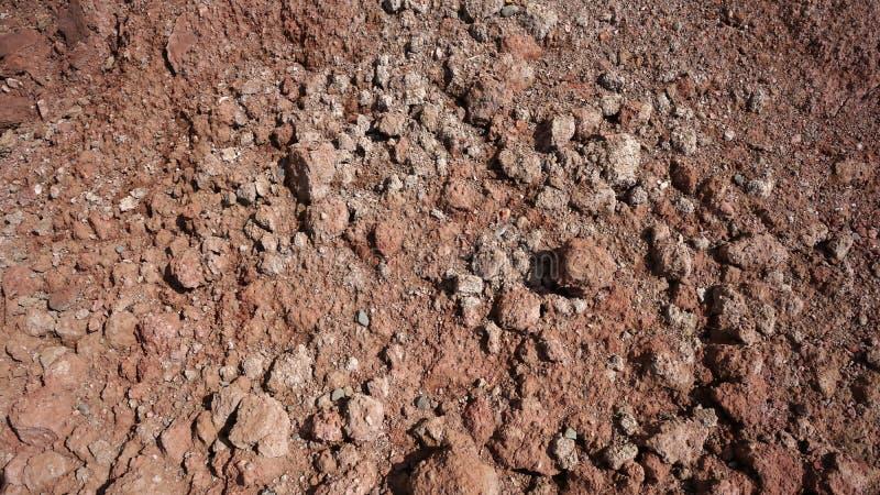 Die Beschaffenheit des Lehms stockfotos