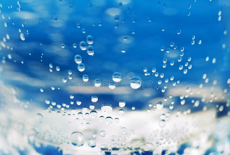 Die Beschaffenheit des Wassers ist gekohlt Wasser ist Makro Hintergrund für Ihren Text stockbilder