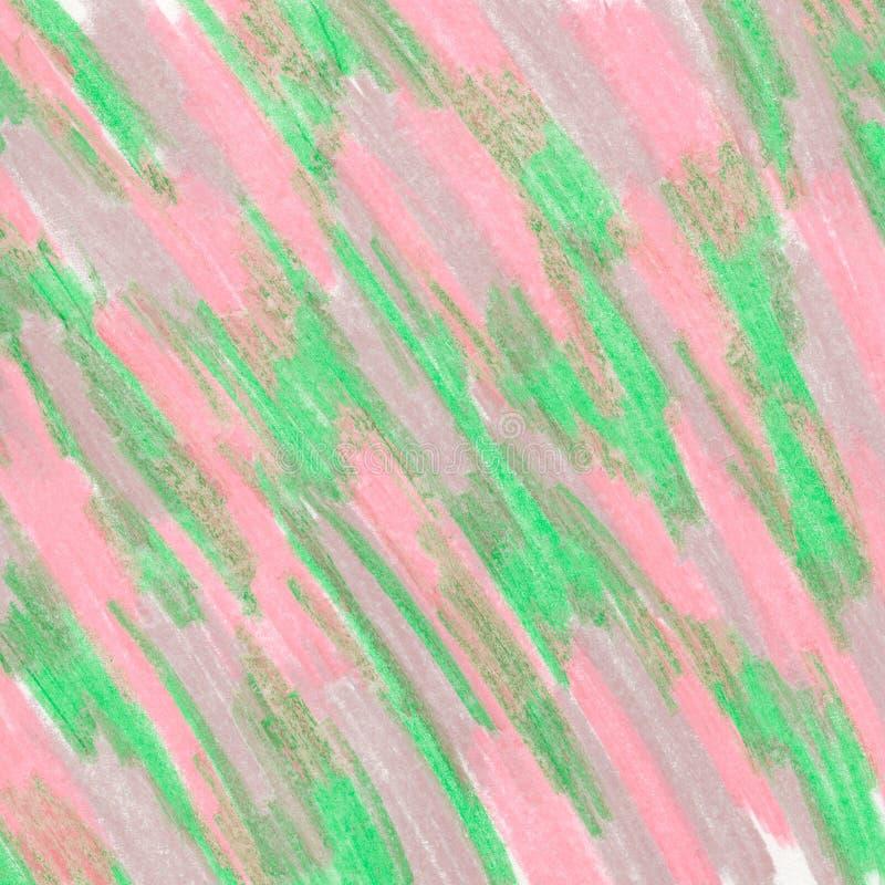 Die Beschaffenheit von den Pastellfarben, weich und ruhig, acrylsauer stock abbildung
